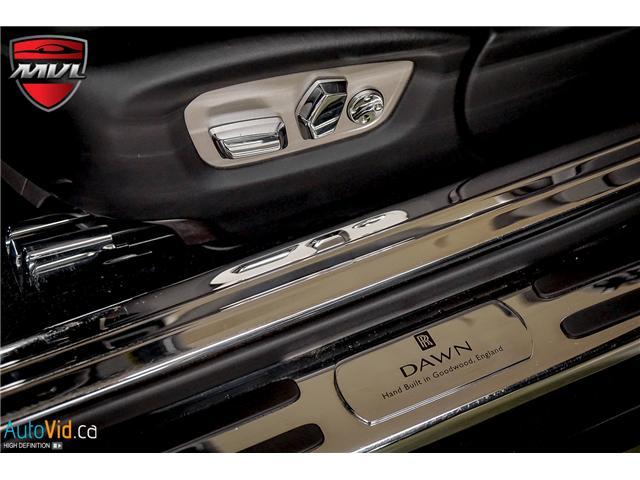 2017 Rolls-Royce Dawn  (Stk: ) in Oakville - Image 25 of 43