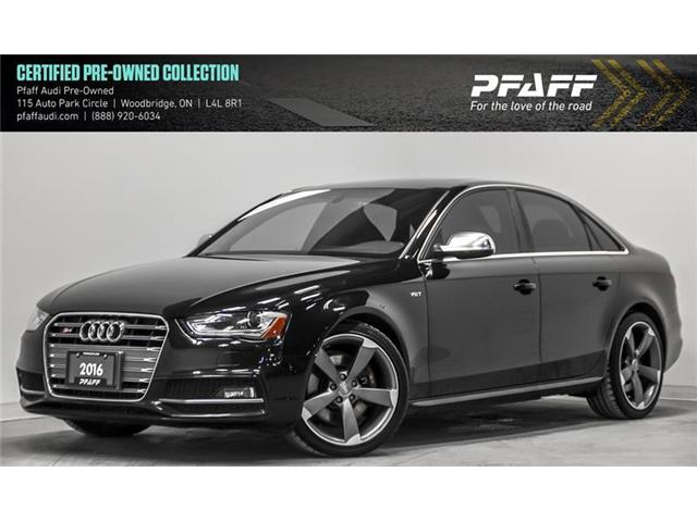 2016 Audi S4 3.0T Technik plus (Stk: T16364A) in Woodbridge - Image 1 of 21