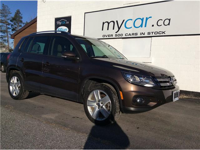 2015 Volkswagen Tiguan Comfortline (Stk: 190326) in North Bay - Image 1 of 21