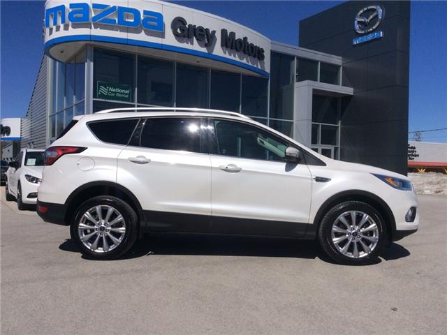 2018 Ford Escape Titanium (Stk: 03330P) in Owen Sound - Image 1 of 21