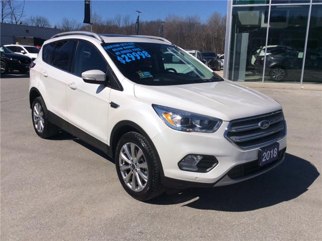 2018 Ford Escape Titanium (Stk: 03330P) in Owen Sound - Image 2 of 21