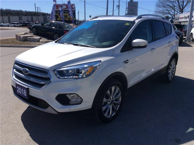 2018 Ford Escape Titanium (Stk: 03330P) in Owen Sound - Image 4 of 21