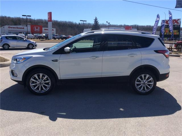 2018 Ford Escape Titanium (Stk: 03330P) in Owen Sound - Image 5 of 21