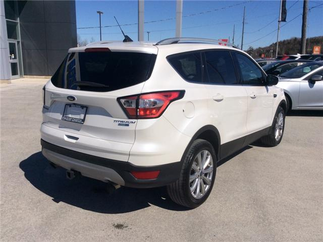 2018 Ford Escape Titanium (Stk: 03330P) in Owen Sound - Image 8 of 21