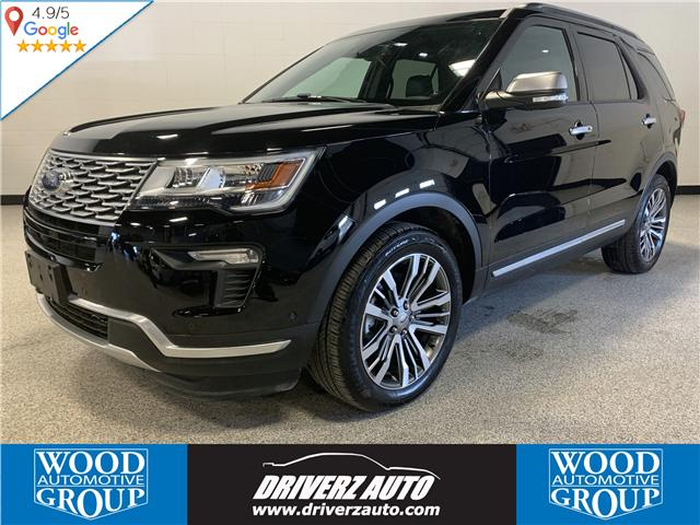 2018 Ford Explorer Platinum (Stk: P11975) in Calgary - Image 1 of 24