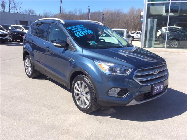 2018 Ford Escape Titanium (Stk: 03331P) in Owen Sound - Image 2 of 22
