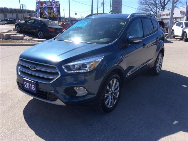 2018 Ford Escape Titanium (Stk: 03331P) in Owen Sound - Image 4 of 22