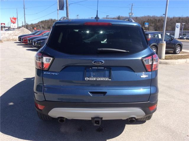 2018 Ford Escape Titanium (Stk: 03331P) in Owen Sound - Image 7 of 22