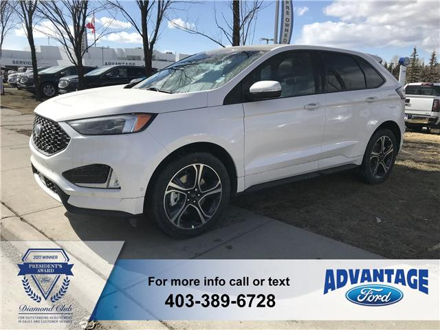 2019 Ford Edge ST (Stk: K-540) in Calgary - Image 1 of 6