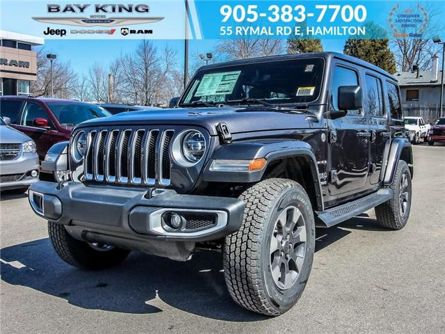 2019 Jeep Wrangler Unlimited Sahara (Stk: 197603) in Hamilton - Image 1 of 23