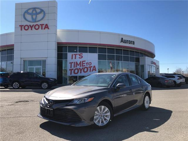 2019 Toyota Camry LE (Stk: 30710) in Aurora - Image 1 of 16