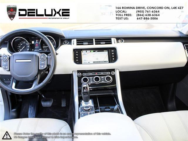 2016 Land Rover Range Rover Sport DIESEL Td6 HSE (Stk: D0552) in Concord - Image 15 of 24