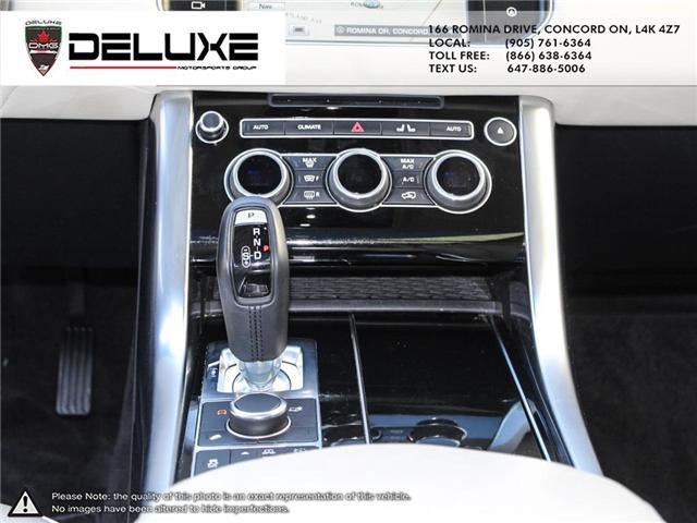 2016 Land Rover Range Rover Sport DIESEL Td6 HSE (Stk: D0552) in Concord - Image 16 of 24