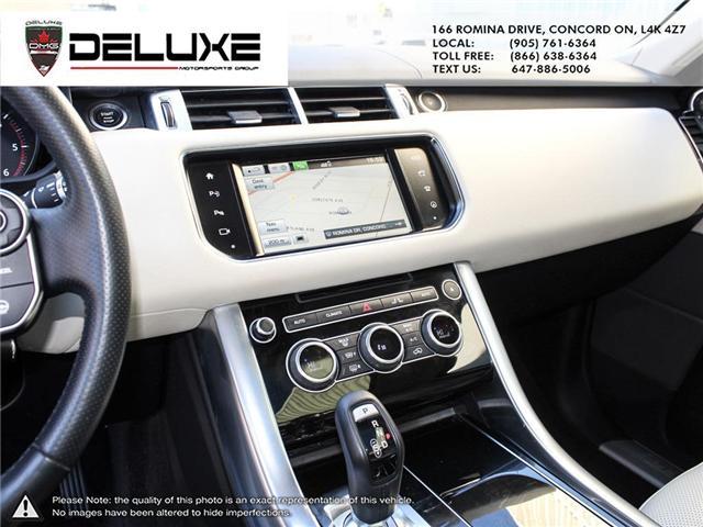 2016 Land Rover Range Rover Sport DIESEL Td6 HSE (Stk: D0552) in Concord - Image 18 of 24