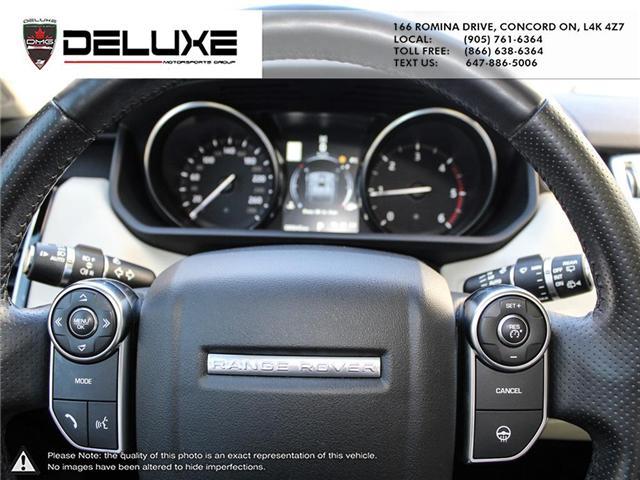 2016 Land Rover Range Rover Sport DIESEL Td6 HSE (Stk: D0552) in Concord - Image 22 of 24
