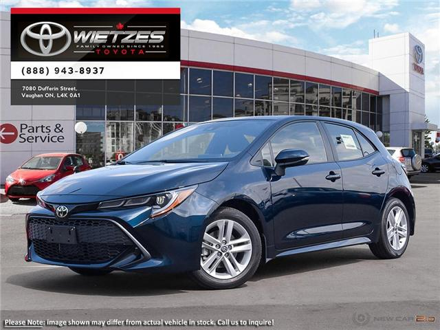 2019 Toyota Corolla Hatchback SE Upgrade Package (Stk: 68099) in Vaughan - Image 1 of 24