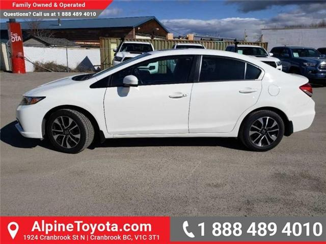 2015 Honda Civic EX (Stk: X078385P) in Cranbrook - Image 2 of 17