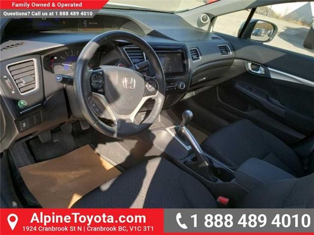 2015 Honda Civic EX (Stk: X078385P) in Cranbrook - Image 9 of 17