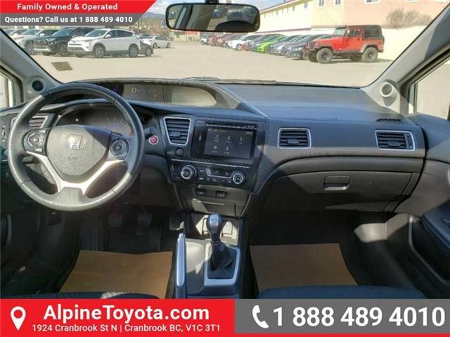 2015 Honda Civic EX (Stk: X078385P) in Cranbrook - Image 10 of 17