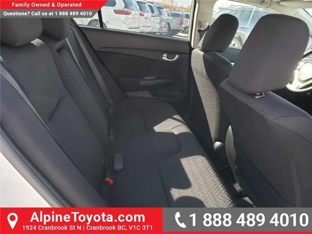 2015 Honda Civic EX (Stk: X078385P) in Cranbrook - Image 17 of 17
