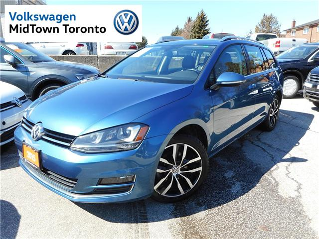 2015 Volkswagen Golf Sportwagon  (Stk: P7202) in Toronto - Image 1 of 29