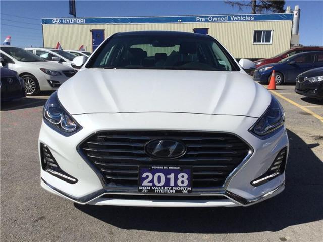 2018 Hyundai Sonata Hybrid Limited (Stk: 7605H) in Markham - Image 2 of 22