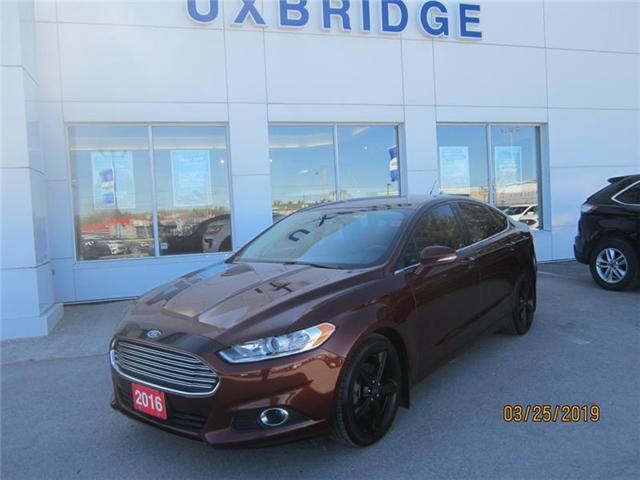 2016 Ford Fusion SE (Stk: P1249) in Uxbridge - Image 1 of 8