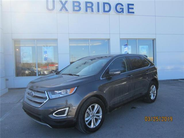 2018 Ford Edge SEL (Stk: P1258) in Uxbridge - Image 1 of 8