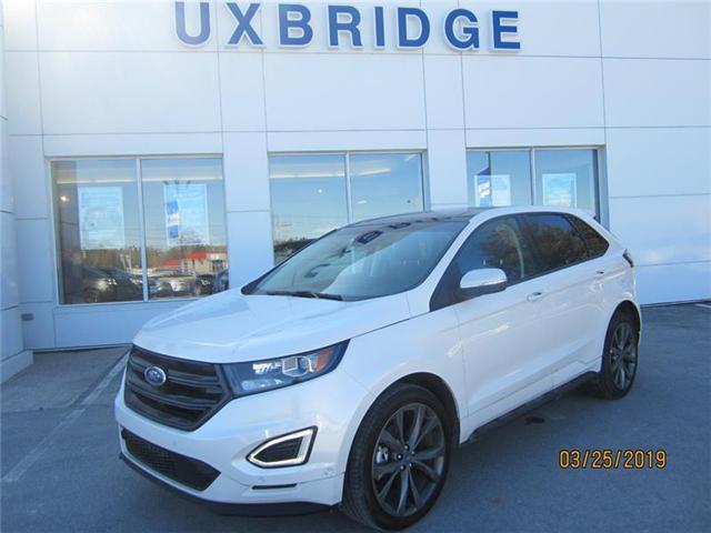 2018 Ford Edge Sport (Stk: P1261) in Uxbridge - Image 1 of 8
