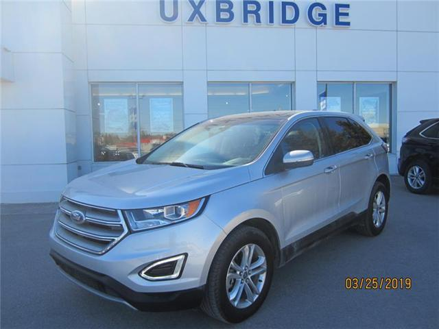 2018 Ford Edge SEL (Stk: P1262) in Uxbridge - Image 1 of 8