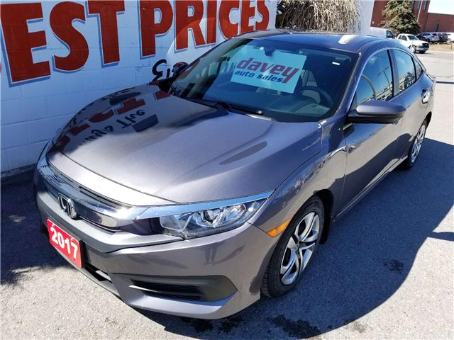 2017 Honda Civic LX (Stk: 19-167) in Oshawa - Image 1 of 14
