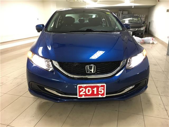 2015 Honda Civic EX (Stk: V19655A) in Toronto - Image 3 of 23