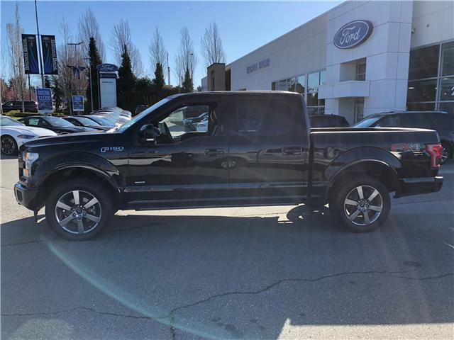 2017 Ford F-150 Lariat (Stk: OP1982) in Vancouver - Image 2 of 27