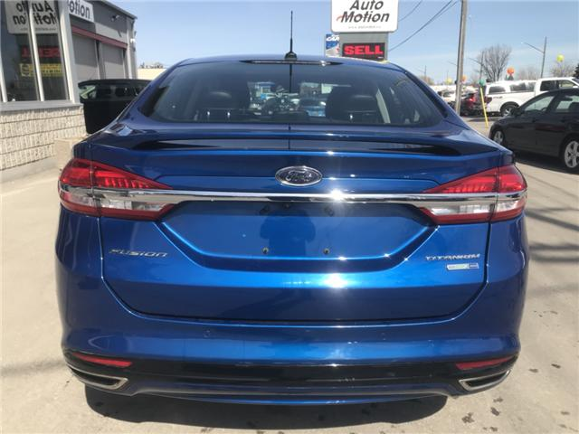 2017 Ford Fusion Titanium (Stk: 19300) in Chatham - Image 6 of 23