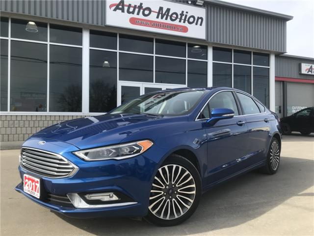 2017 Ford Fusion Titanium (Stk: 19300) in Chatham - Image 1 of 23