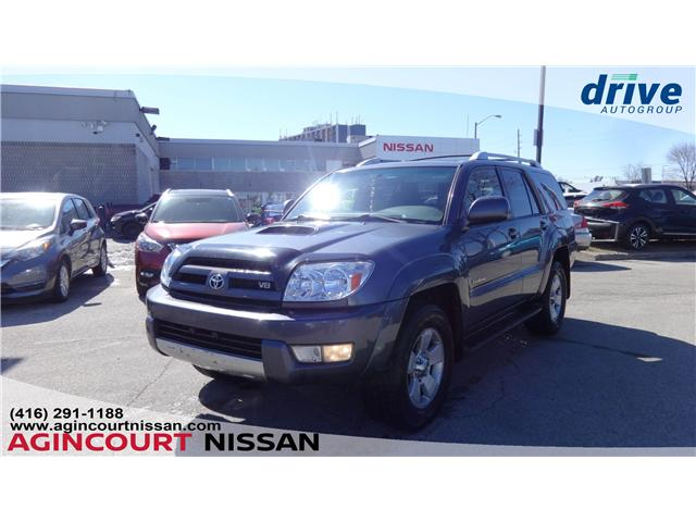 2005 Toyota 4Runner SR5 V8 (Stk: U12411A) in Scarborough - Image 1 of 20