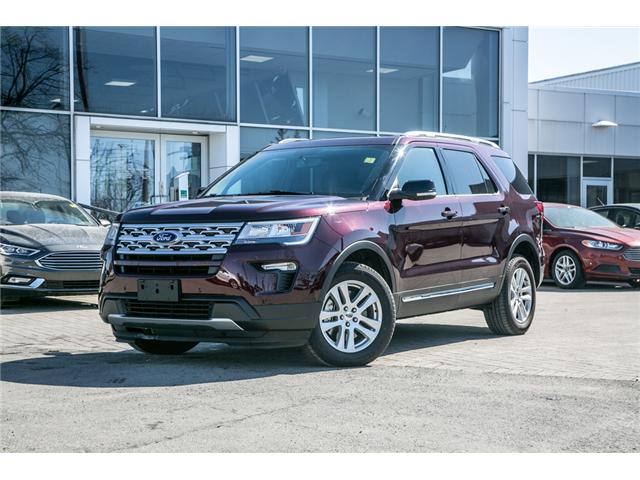 2018 Ford Explorer XLT AWD-LEATHER-POWER ROOF -NAV-EXTRA CLEAN (Stk: 947840) in Ottawa - Image 1 of 29