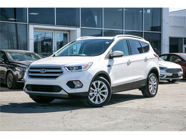 2018 Ford Escape TITANIUM AWD-LEATHER-POWER ROOF-WARRANTY (Stk: 948070) in Ottawa - Image 1 of 28