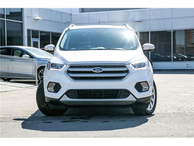 2018 Ford Escape TITANIUM AWD-LEATHER-POWER ROOF-WARRANTY (Stk: 948070) in Ottawa - Image 2 of 28