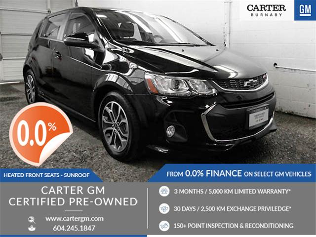 2018 Chevrolet Sonic LT Auto (Stk: P9-57790) in Burnaby - Image 1 of 23