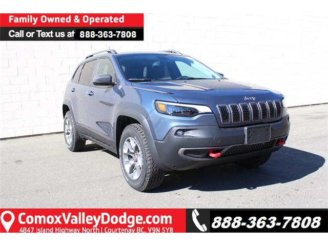 2019 Jeep Cherokee Trailhawk (Stk: D384687) in Courtenay - Image 1 of 30