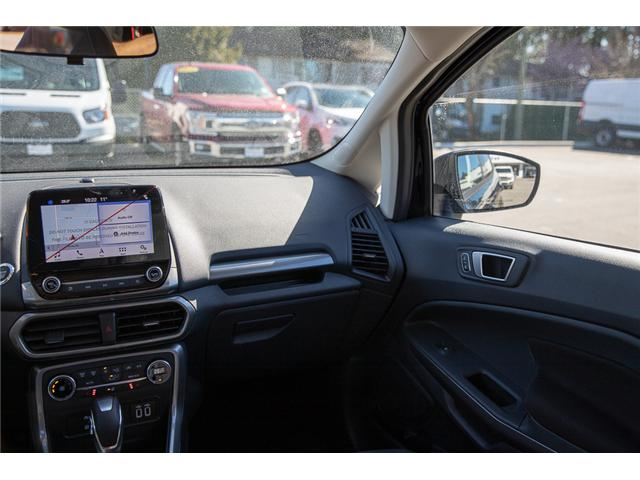2018 Ford EcoSport SE (Stk: 8EC9495) in Vancouver - Image 15 of 27
