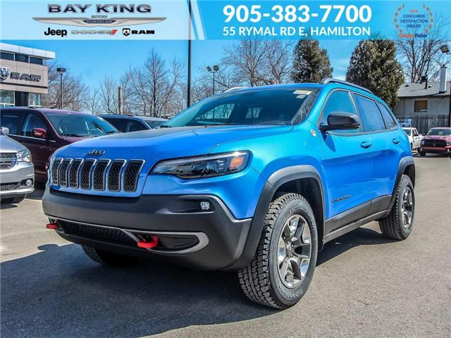 2019 Jeep Cherokee Trailhawk (Stk: 197606) in Hamilton - Image 1 of 24