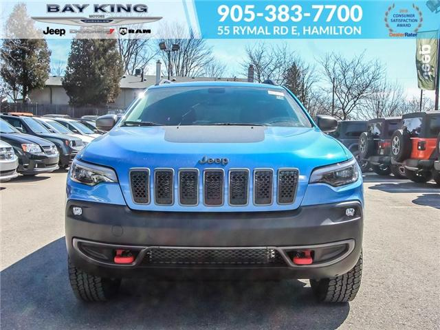 2019 Jeep Cherokee Trailhawk (Stk: 197606) in Hamilton - Image 2 of 24