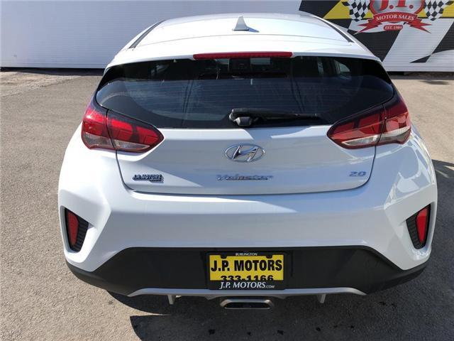 2019 Hyundai Veloster 2.0 GL (Stk: 46508r) in Burlington - Image 7 of 24