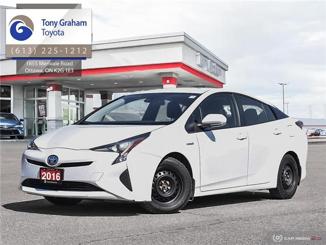 2016 Toyota Prius Base (Stk: U9070) in Ottawa - Image 1 of 25