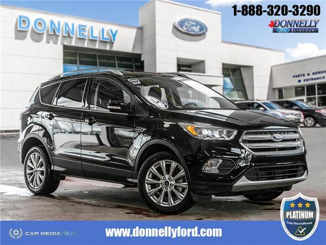 2018 Ford Escape Titanium (Stk: PLDUR6037) in Ottawa - Image 1 of 29