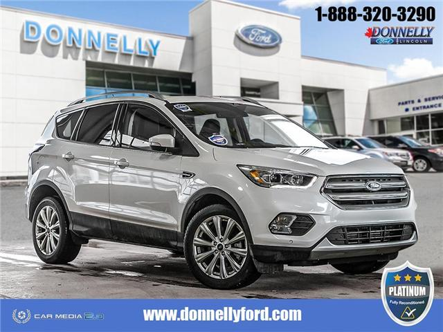 2018 Ford Escape Titanium (Stk: PLDUR6029) in Ottawa - Image 1 of 30