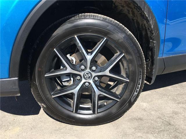 2018 Toyota RAV4 HYBRID SE LEATHER, NAVI, POWER HATCH,SUNROOF, ALLO (Stk: 43693A) in Brampton - Image 2 of 28