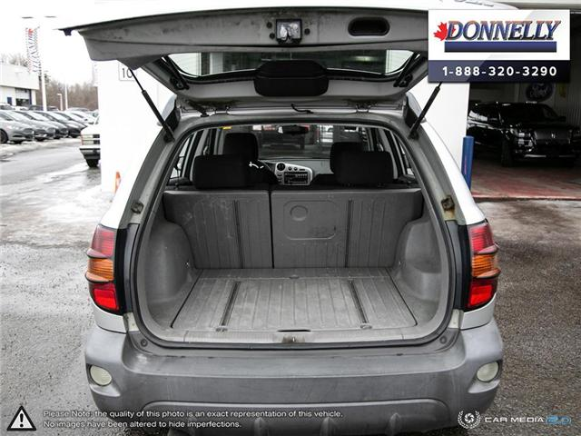 2003 Pontiac Vibe Base (Stk: PBWDUR5869B) in Ottawa - Image 10 of 25